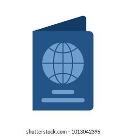 Passport, ticket, travel