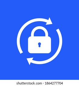 password reset icon for apps and web