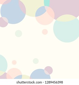 Pastel abstrack Background