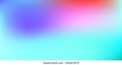 Pastel blue mesh modern background. Smooth foil blurred futuristic template. Blue style backdrop. Softly delimited segments, sectors for info. Blank spectrum gradient printed products, covers.