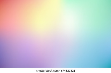 Pastel colorful blurred rainbow abstract background