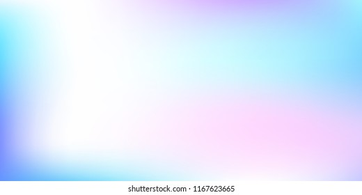 Pastel mesh modern background. Smooth foil blurred futuristic template. Bright hipster style backdrop. Softly delimited segments, sectors for info. Blank spectrum gradient printed products, covers.