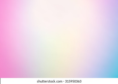 Pastel Multi Color Gradient Vector Background,Simple form and blend of color spaces as contemporary background graphic.