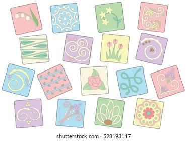 Pastel Petit Fours