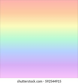 Pastel rainbow gradient background