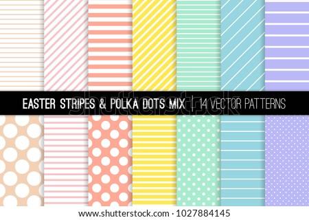 polka dot and stripes