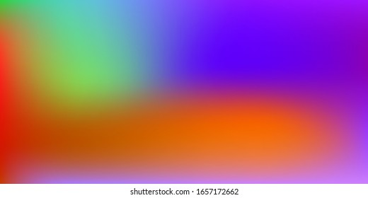 Pastel Soft. Vivid Light Concept. Trend Multicolor, Rainbow Concept. Holographic Vector. Glossy Cover. Web Applications. Mobile illustration, Network Template Design. Pattern 80s Product.