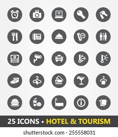 Pastorbot 25 Icon Set - Hotel and Tourism