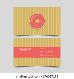 Bakery business card pastry template images stock photos vectors pastry chef business card design template colourmoves