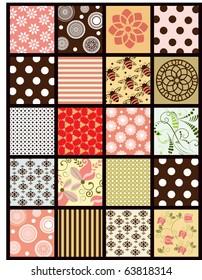 patchwork quilt 1 of 2