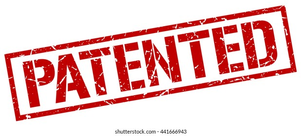patented stamp.stamp.sign.patented.