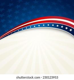 Patriotic background american flag color
