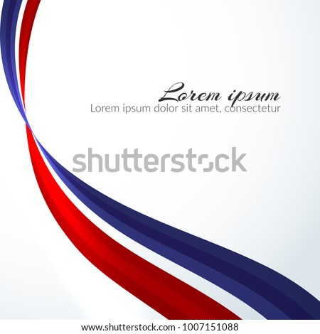 patriotic background colors national flag russia stock vector