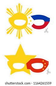 Patriotic fantasy mask