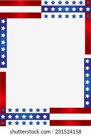 Patriotic Frame border