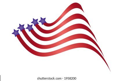 Patriotic graphic.
