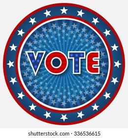 Patriotic Vote Design