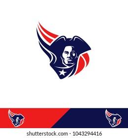 Patriots design logo