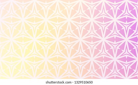 Pattern With Abstract Geometric Design. Vector Illustration. Design For Your Interior Wallpaper, Fashion Print, Business Presentation. Blurred gradient.