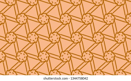 Pattern with abstract geometric design. Vector illustration. Design for your interior wallpaper, fashion print, business presentation