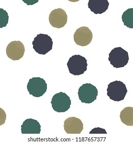 Pattern abstract Seamless Coloring Points. For your design. Vector.