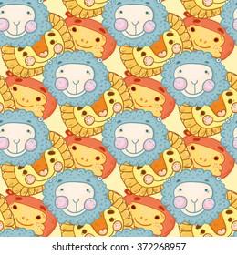 pattern animal child