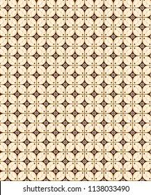 Pattern For Background Solo Vector Batik