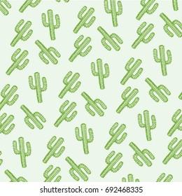 Pattern cactus illustration , tee shirt graphics, vectors