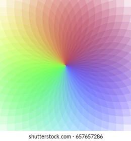 Pattern color circle. Rainbow  vector background