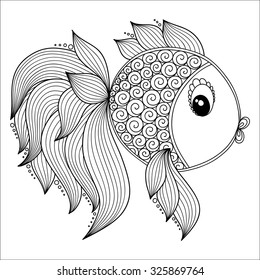 Lovely fish of oceana printable coloring pages - Hellokids.com | 280x260