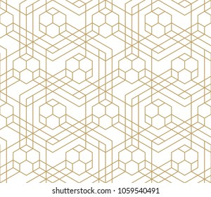 Pattern with crossing thin lines and geometric shapes. Seamless line rapport. Stylish fractal texture. Vector  background with stylized football soccer-ball.