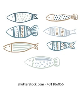 pattern with fish