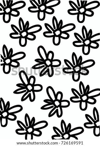 Pattern Flower Wallpaper Texture Background