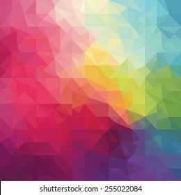 Pattern of geometric shapes. Vector illustration