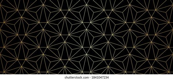 Muster mit goldenen Linien und Dreiecken. Stilvolle abstrakte geometrische Diamantstruktur in heller Farbe. Nahtloses lineares Muster für Gewebe, Textilien und Schmuck. Moderne Armbanduhr für Design.