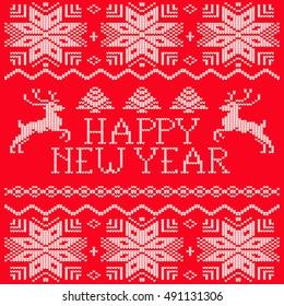 ?rochet pattern happy new year