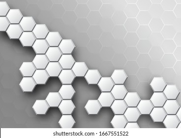 pattern hexagon background abstract and geometric wallpaper with cover web shape