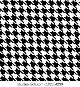 Pattern, houndstooth