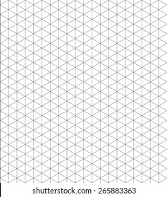 Pattern isometric grid vector