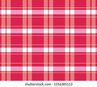 pattern of the loincloth with neon red striped color-vector