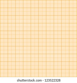 Pattern with millimeter grid (orange)