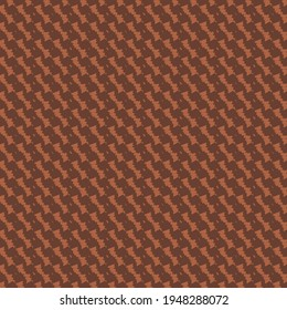 A pattern with oblique stripes, made of small elements linked in a chain. Motley upholstery or cover, in rusty tones.