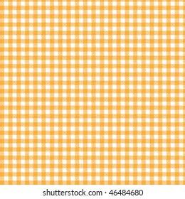 Pattern orange picnic