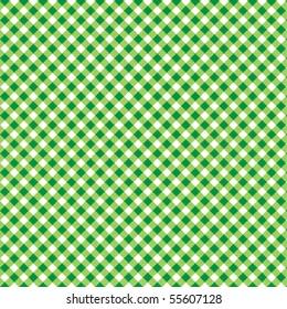 Pattern picnic green vector