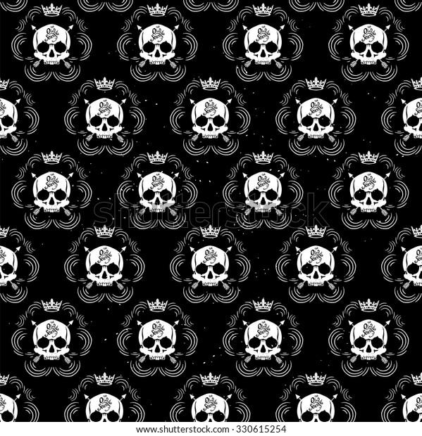 Vector De Stock Libre De Regalías Sobre Pattern Pirate