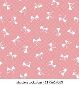 Pattern of the ribbon,