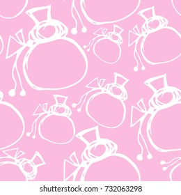 pattern sack doodle vector