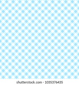 Pattern seamless checkered chevron with blue tone. Design geometric stripe for background image or fashion minimalist design, fabric, textile, wallpaper, gift wrapping paper etc. Abstract vector.