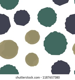 Pattern Seamless Points in of three colors. For your design. Vector.