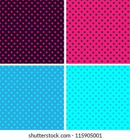 Pattern seamless polka dot background